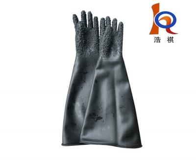 耐磨耐高压 65cm长喷砂手套